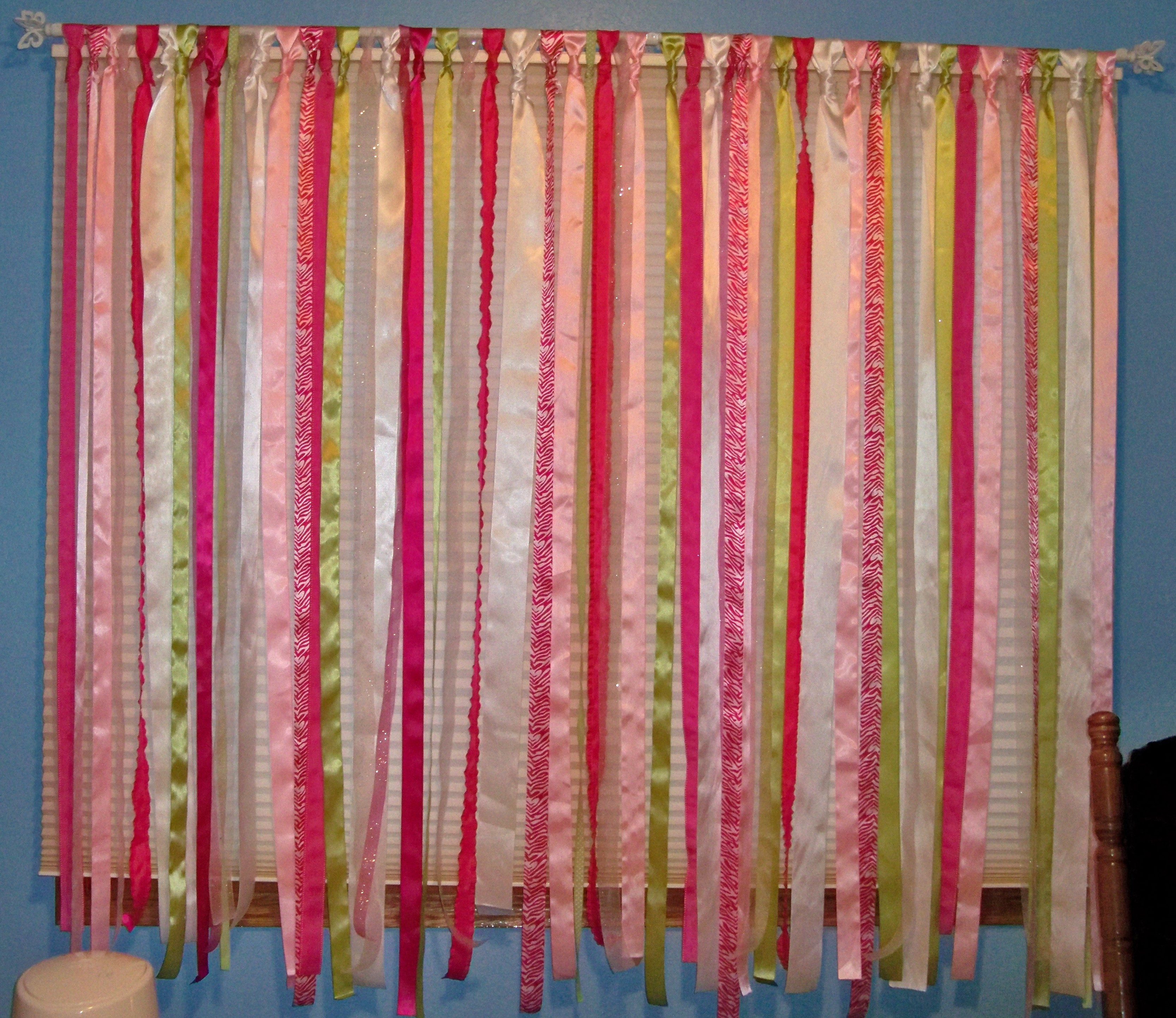 Curtains With Ribbon Ties Curtains with Cloth Ties