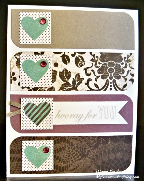Heart Card by Wendy Kessler