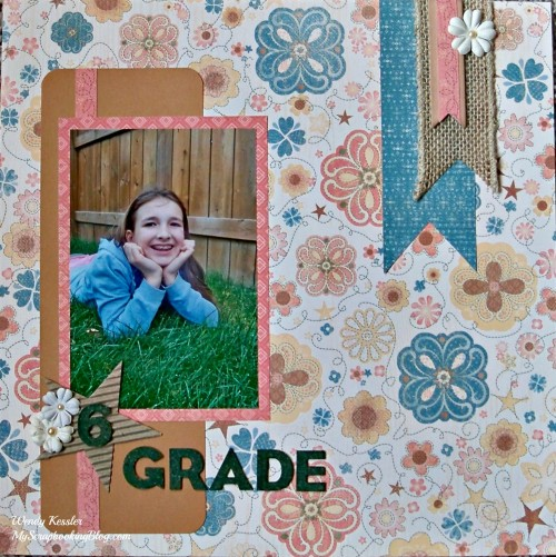 6th Grade Layout by Wendy Kessler
