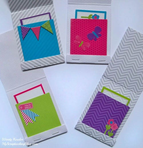 CTMH Matchbox Cards by Wendy Kessler