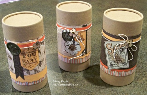 Kraft Containers by Wendy Kessler