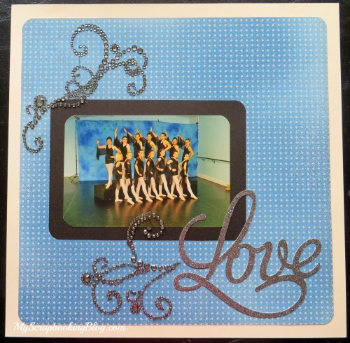 Love Dance Layout by Wendy Kessler