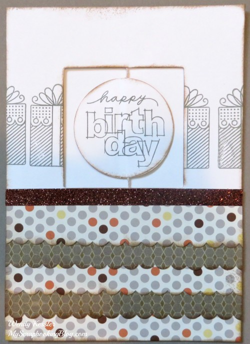 Happy Birthday Spin Card by Wendy Kessler