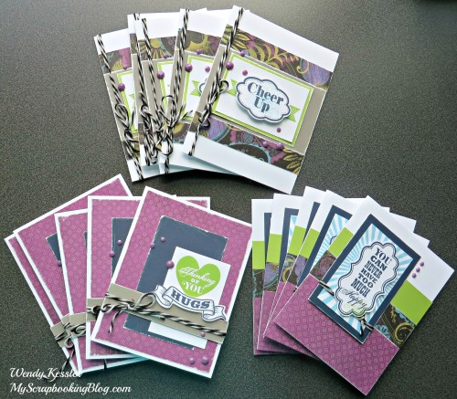 Laughing Lola cards by Wendy Kessler