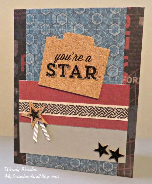 You're a Star Card by Wendy Kessler