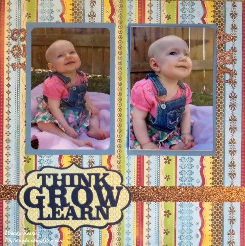 Think, Grow, Learn Layout by Wendy Kessler