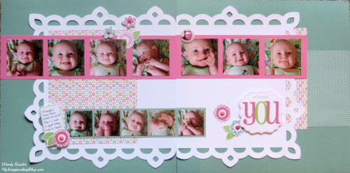 YOU Layout by Wendy Kessler