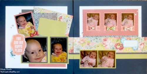 You are My Happy Place Layout by Wendy Kessler