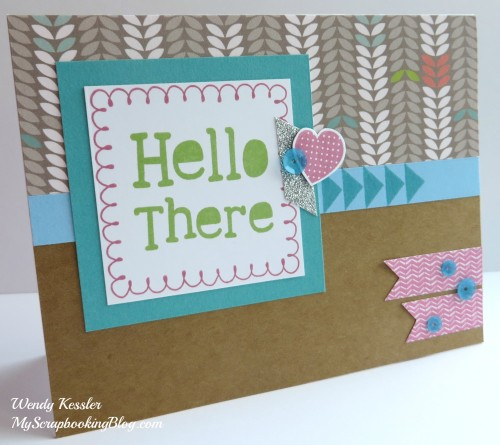 Lollydoodle Card 3 by Wendy Kessler