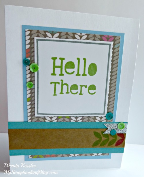 Lollydoodle Card 2 by Wendy Kessler