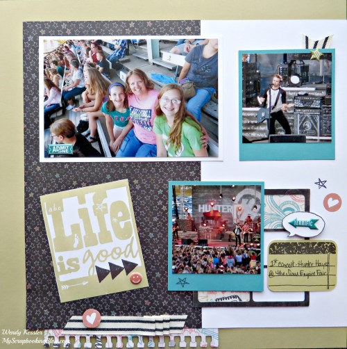 Concert Layout by Wendy Kessler