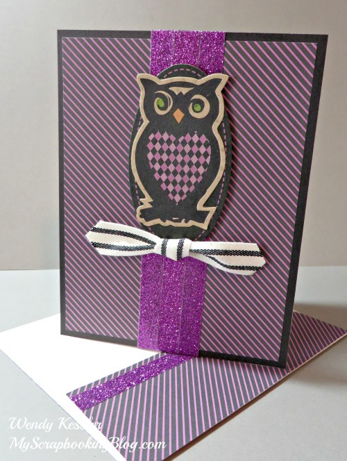 Owl Card by Wendy Kessler