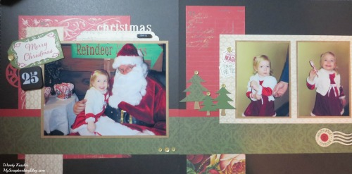 Merry Christmas Layout by Wendy Kessler