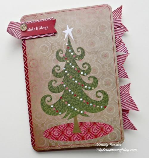 Christmas Mini-Album by Wendy Kessler