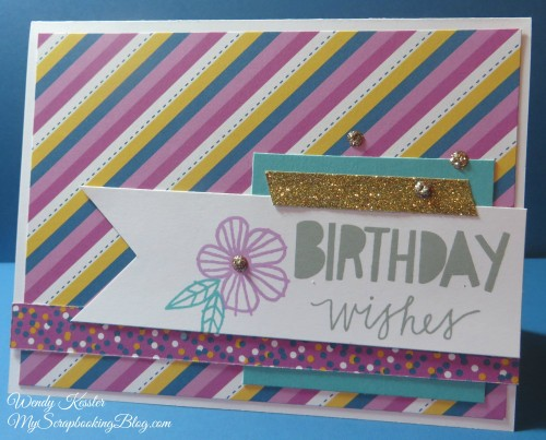 Birthday Wishes Card by Wendy Kesler
