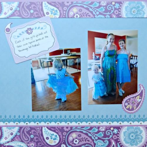 Dresses Layout by Wendy Kessler