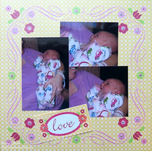 Love Baby Layout by Wendy Kessler