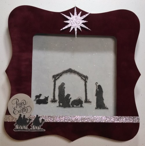 Nativity Frame by Wendy Kessler