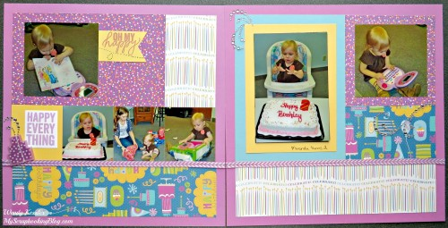 Happy Everything Layout by Wendy Kessler