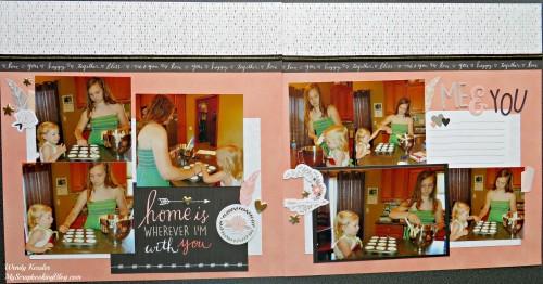 Baking Layout by Wendy Kessler