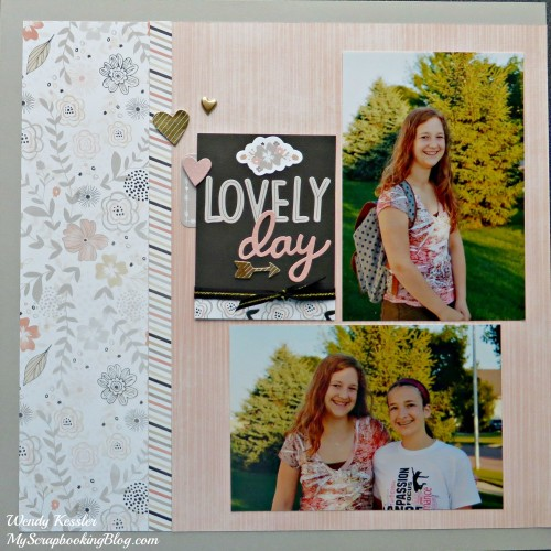 Lovely Day Layout by Wendy Kessler