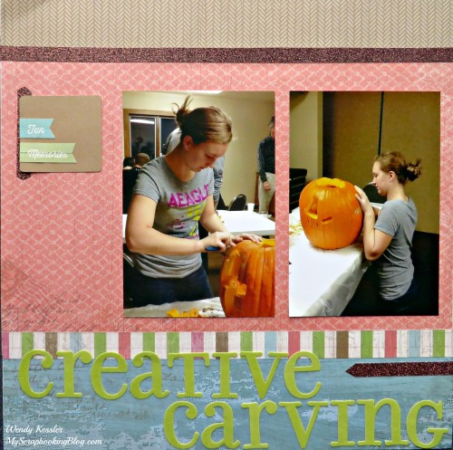 Creative Carving Layout by Wendy Kessler