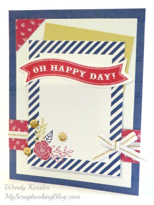 Happy Day Card by Wendy Kessler