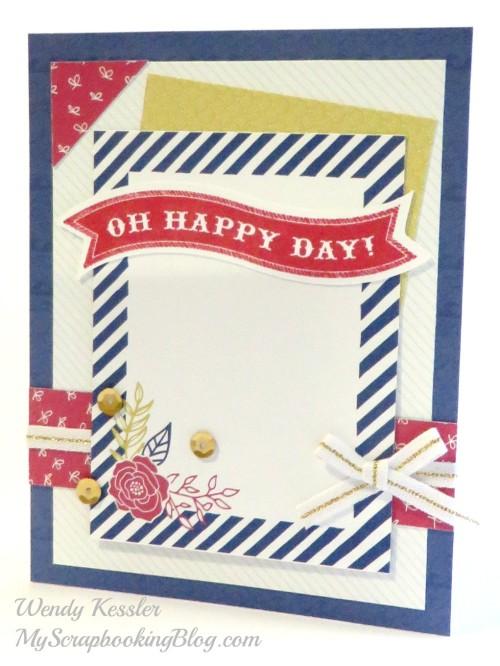 Happy Day Card by Wendy Kessler