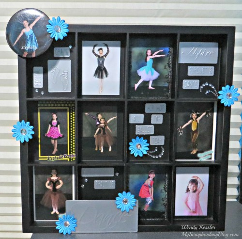 Dance Display Tray by Wendy Kessler