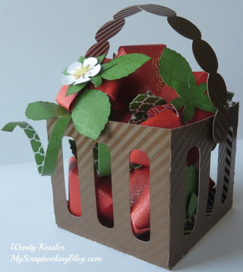 Basket of Strawberries by Wendy Kessler