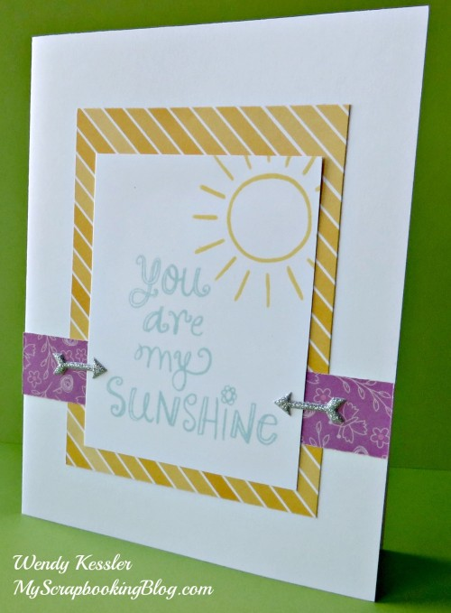 Sunshine Birdies card by Wendy Kessler