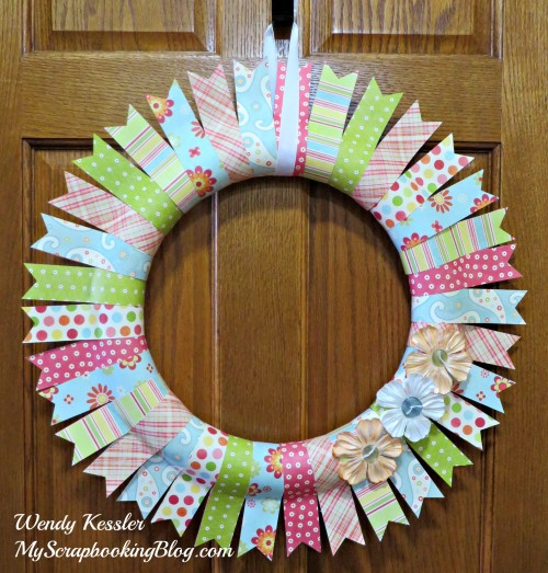 Spring Wreath by Wendy Kessler