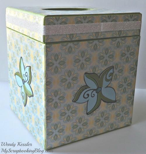 Tinkerbell Kleenex Box by Wendy Kessler