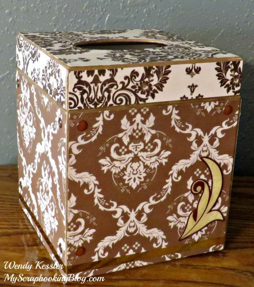Decor Kleenex Box by Wendy Kessler
