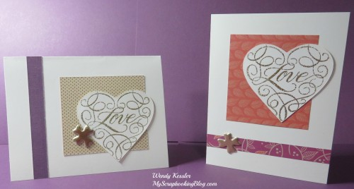 Love Cards by Wendy Kessler