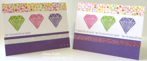 Diamond Cards by Wendy Kessler